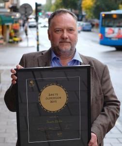Svante Ekelin Årets Ölperson 2015